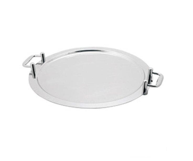 Omega Model 960118 Deluxe Stainless Steel Montery Round Platter with Handles - Omni Food Equipment