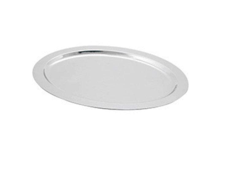 Omega Model 980318 Deluxe Stainless Steel Oval Platter - Omni Food Equipment