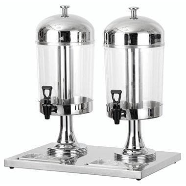 Omega Stainless Steel Juice Dispensers with Built-in Cooling Cylinder - Various Sizes - Omni Food Equipment