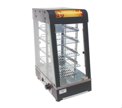 "Omega ZWS-89A Glass Display 14"" Food Warmer - Omni Food Equipment"