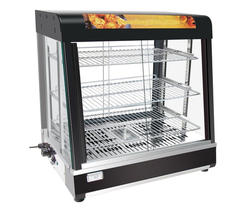 "Omega ZWS-89B Glass Display 26"" Food Warmer - Omni Food Equipment"