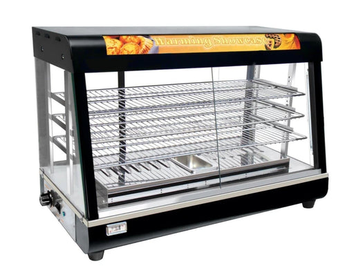 "Omega ZWS-89C Glass Display 36"" Food Warmer - Omni Food Equipment"