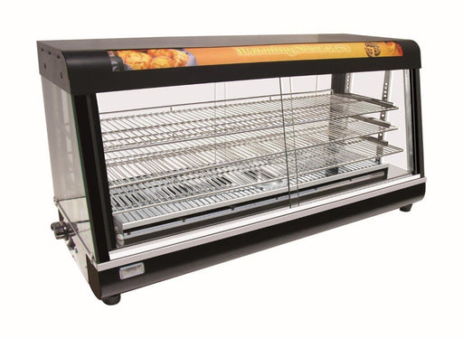 "Omega ZWS-89D Glass Display 48"" Food Warmer - Omni Food Equipment"