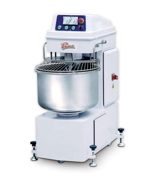 Primo PSM-60E Dual Speed Commercial Spiral Mixer - 60 Qt Capacity, Three Phase - Omni Food Equipment