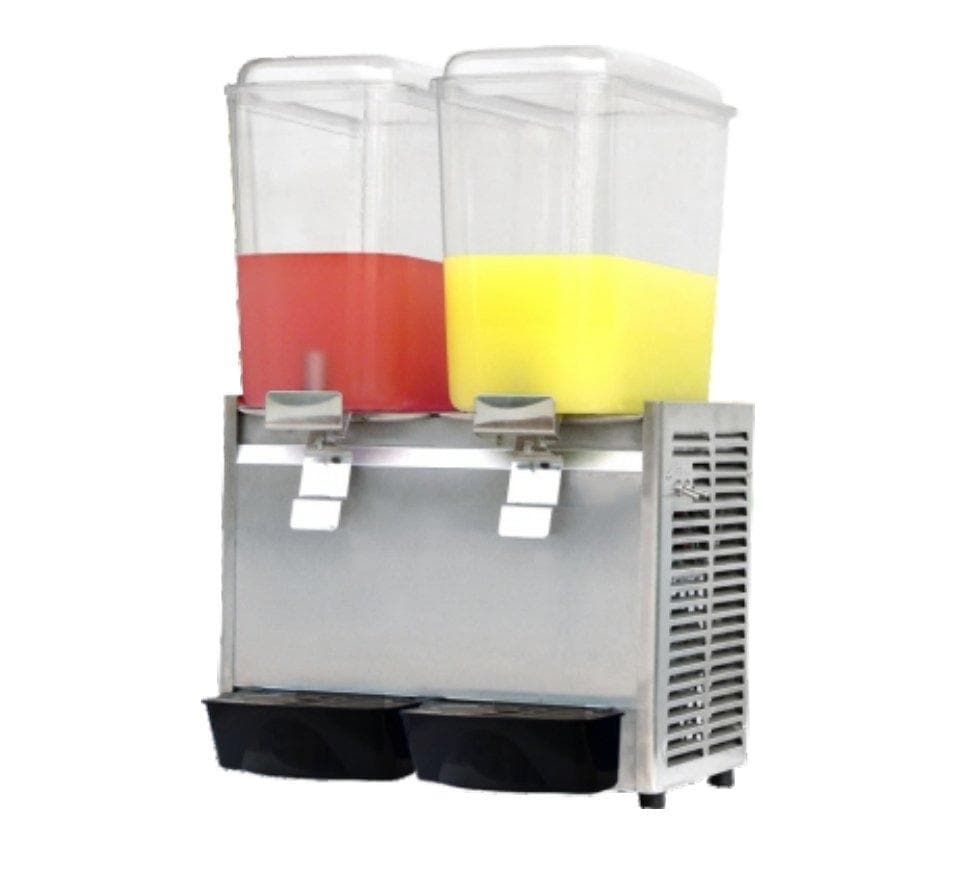 Suttonaire LP18X2 Double Container 36 Liter (18L per Container) Refrigerated Juice Dispenser - Omni Food Equipment