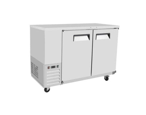 "Suttonaire MBB59 Commercial 58"" Double Swing Solid Door Back Bar Cooler - Omni Food Equipment"