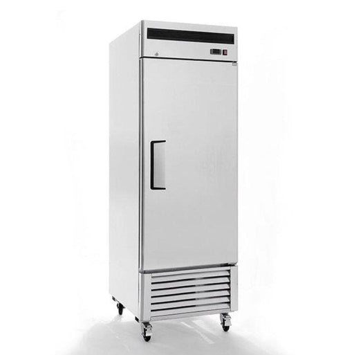 "Suttonaire MBF8505 Single Solid Door 27"" Wide Stainless Steel Refrigerator - Omni Food Equipment"