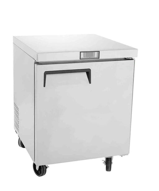 "Suttonaire MGF8401 Single Door 28"" Refrigerated Work Table - Omni Food Equipment"