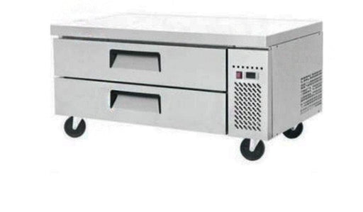 "Suttonaire MGF8450 Refrigerated 49"" Chef Base - Accommodates up to 4"" Deep Pans - Omni Food Equipment"