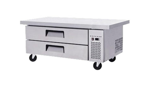 "Suttonaire MGF8452 Refrigerated 61"" Chef Base - Accommodates up to 4"" Deep Pans - Omni Food Equipment"
