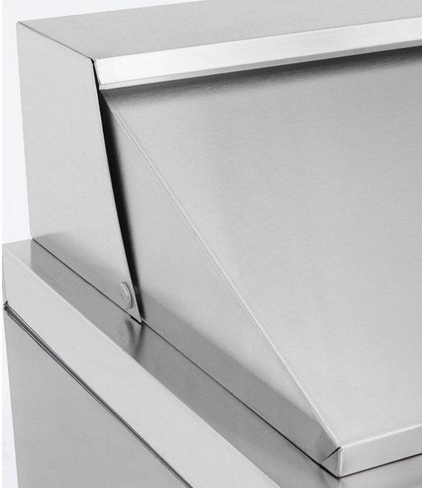 "Suttonaire MSF8301 Single Door 28"" Refrigerated Sandwich Prep Table - Omni Food Equipment"