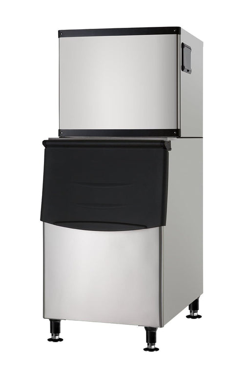 Suttonaire SK-350P Ice Machine, Cube Shaped Ice - 350LB/24HRS, 230LBS Storage - Omni Food Equipment