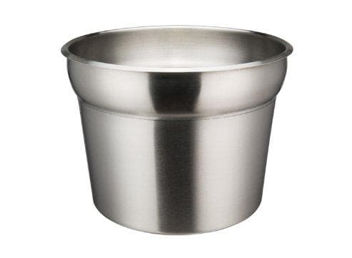 Winco 11 Qt Prime Stainless Steel Insert - Omni Food Equipment