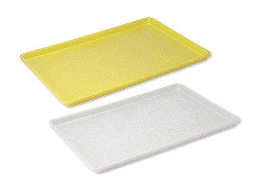"Winco 18"" x 26"" Plastic Sheet Tray - Various Colours - Omni Food Equipment"