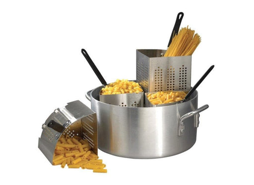 Winco 20 Quart Pasta Cooker Set - Omni Food Equipment