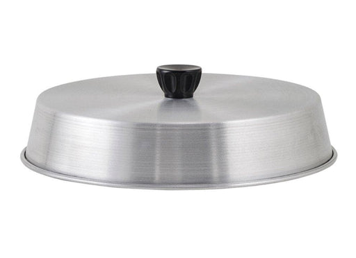 "Winco 8"" Aluminum Grill Basting Cover - Omni Food Equipment"