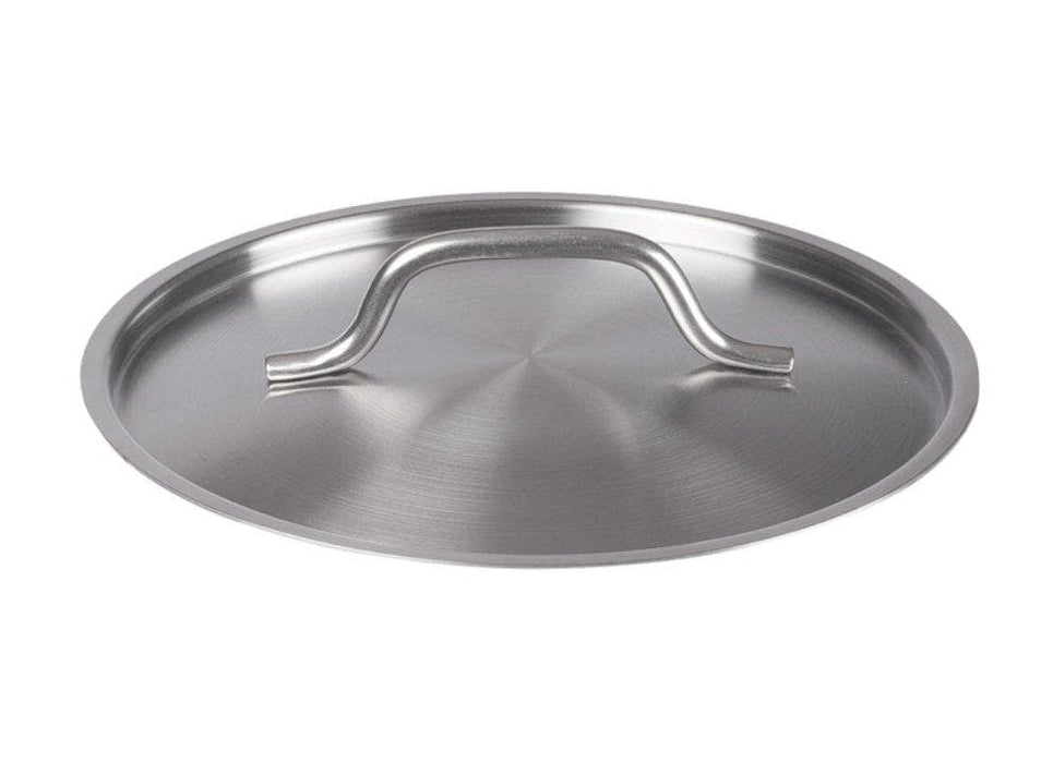 "Winco 9 1/2"" Stainless Steel Pot Cover - Omni Food Equipment"