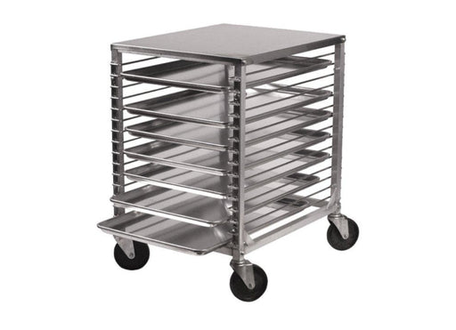 Winco ALRK-15 Aluminum WELDED 15-Tier Sheet Pan Rack - Omni Food Equipment