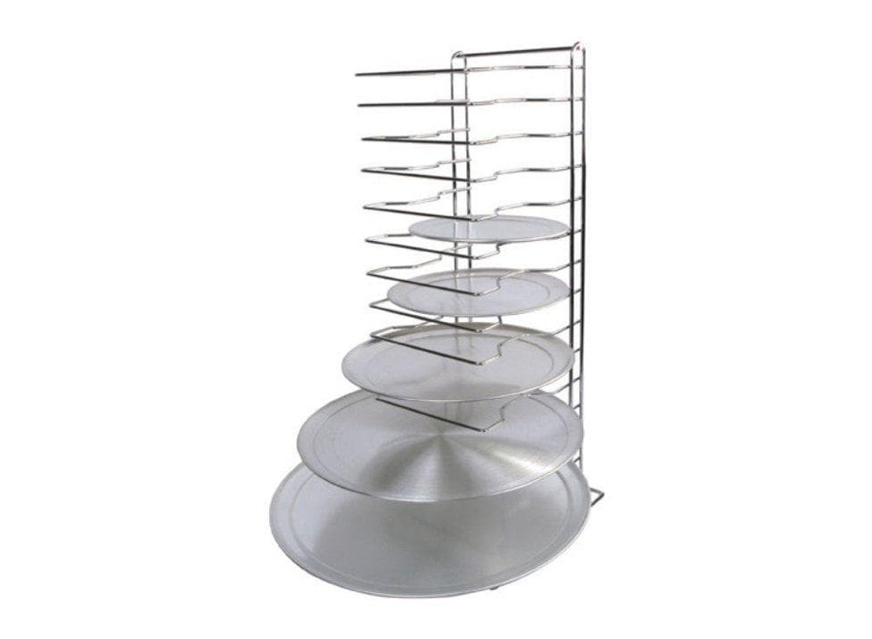 Winco Aluminum 15 Slot Pizza Rack - Omni Food Equipment