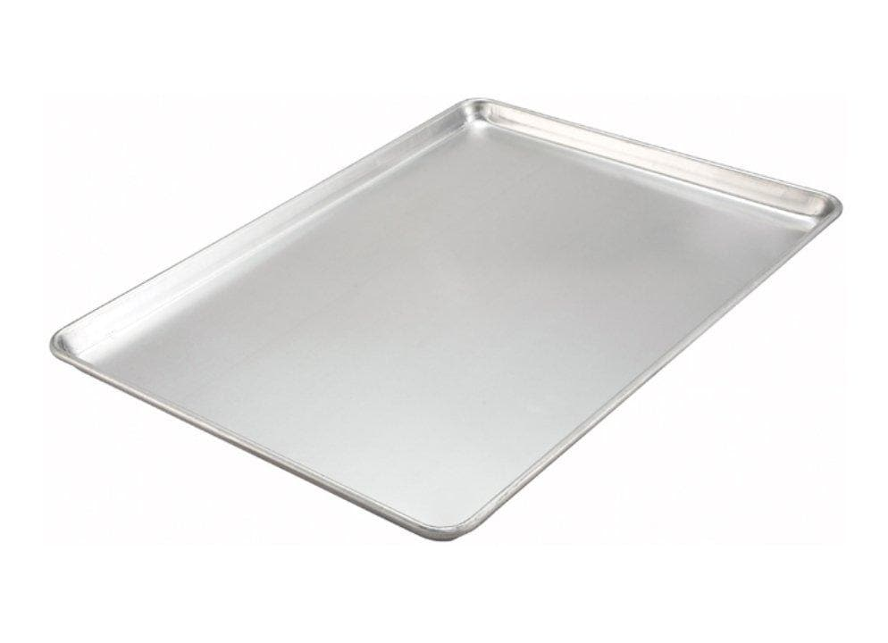Winco Aluminum Sheet Pan - Various Sizes - Omni Food Equipment