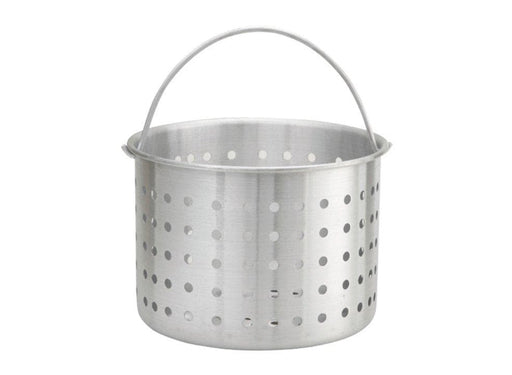 Winco Aluminum Stock Pot Steamer Basket - Various Sizes - Omni Food Equipment