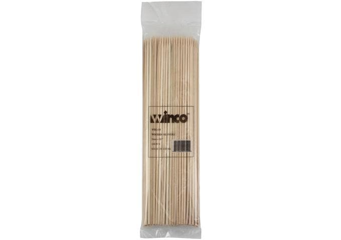 Winco Bamboo Skewers (Bag of 100) - Various Sizes - Omni Food Equipment