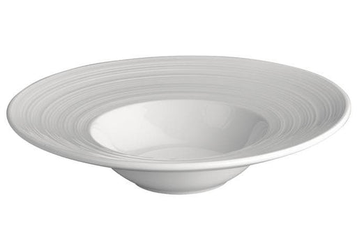 Winco Bright White Zendo Porcelain Bowl - Various Sizes - Omni Food Equipment