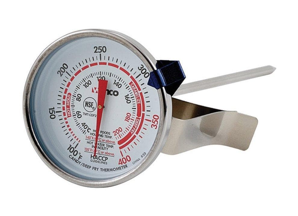 Winco Candy/Deep Fryer Thermometer - Various Sizes - Omni Food Equipment