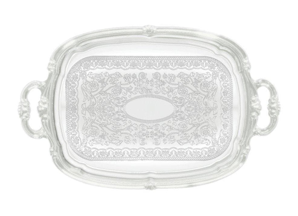 Winco Chrome-Plated Serving Tray - Various Shapes/Sizes - Omni Food Equipment