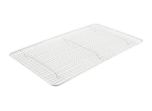 Winco Chrome Plated Wire Sheet Pan Grate/Rack - Various Sizes - Omni Food Equipment