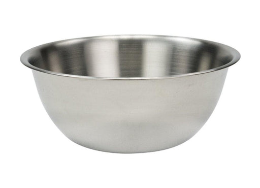 Winco Deep Heavy-Duty Stainless Steel Mixing Bowl - Various Sizes - Omni Food Equipment