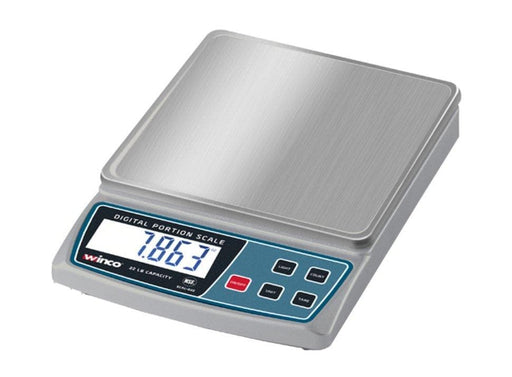 Winco Digital Portion Scale, 22 Lb - Omni Food Equipment