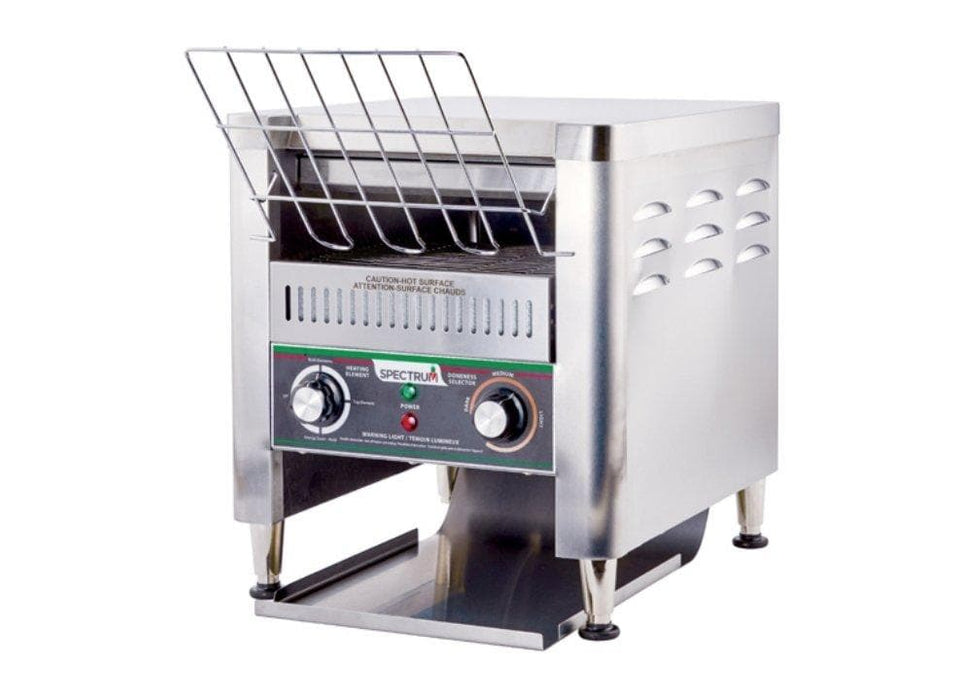 Winco ECT-500 Spectrum Electric Conveyor Toaster - 500 Slices Per Hour, 240V - Omni Food Equipment