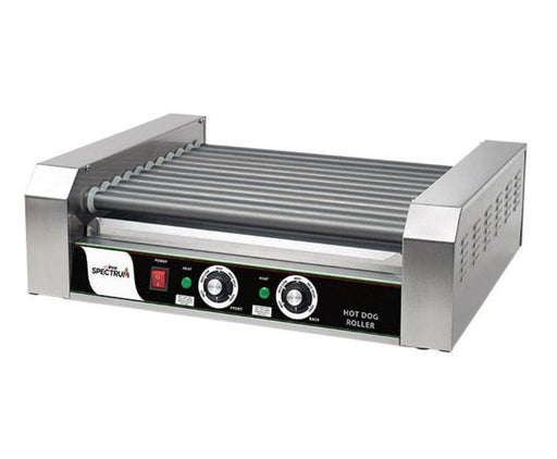 Winco EHDG-11R Spectrum RollRight™ - 11 Rollers, 30 Hot Dog Capacity - Omni Food Equipment