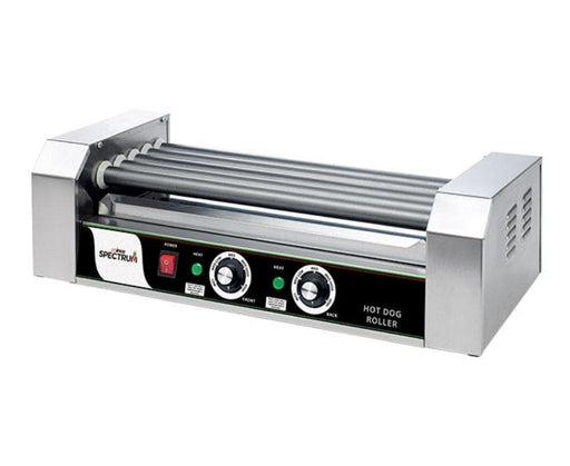 Winco EHDG-5R Spectrum RollRight™ - 5 Rollers, 12 Hot Dog Capacity - Omni Food Equipment