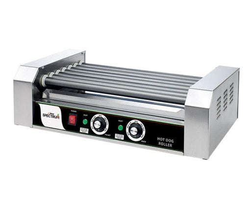 Winco EHDG-7R Spectrum RollRight™ - 7 Rollers, 18 Hot Dog Capacity - Omni Food Equipment