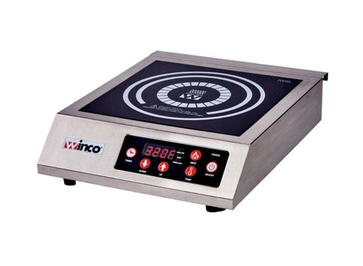 Winco EIC-400 Commercial Electric Induction Cooker - 120V - Omni Food Equipment
