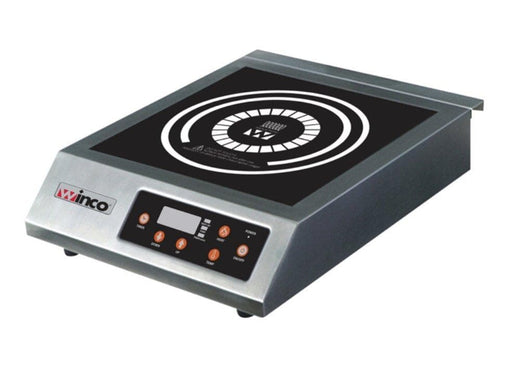 Winco EIC-400B Commercial Electric Induction Cooker - 240V - Omni Food Equipment