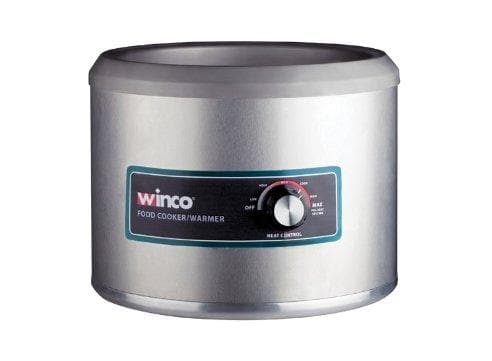 Winco Electric 11 Quart Round Food Cooker/Warmer, 1250W - Omni Food Equipment