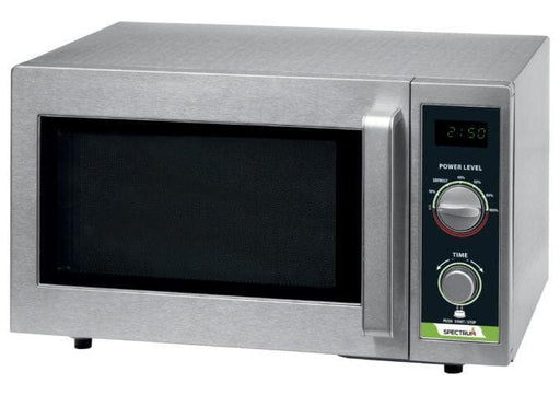 Winco EMW-1000SD Spectrum Commercial Dial Timer Microwave - 1000W - Omni Food Equipment