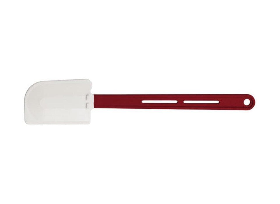 Winco Flate Blade Heat Resistant Silicone Spatula Scraper - Various Sizes - Omni Food Equipment