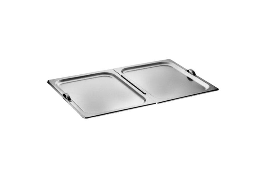 Winco Full-Size Flat Hinged Cover - Omni Food Equipment
