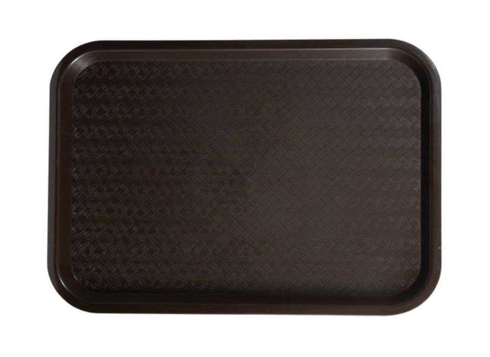 Winco High Quality Plastic Cafeteria Tray - Various Sizes/Colours - Omni Food Equipment