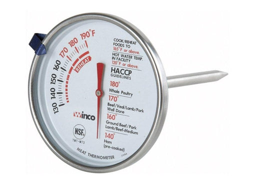 Winco Meat Thermometer - Various Sizes - Omni Food Equipment