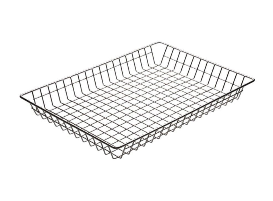 Winco Nickel Plated Doughnut Basket - Omni Food Equipment