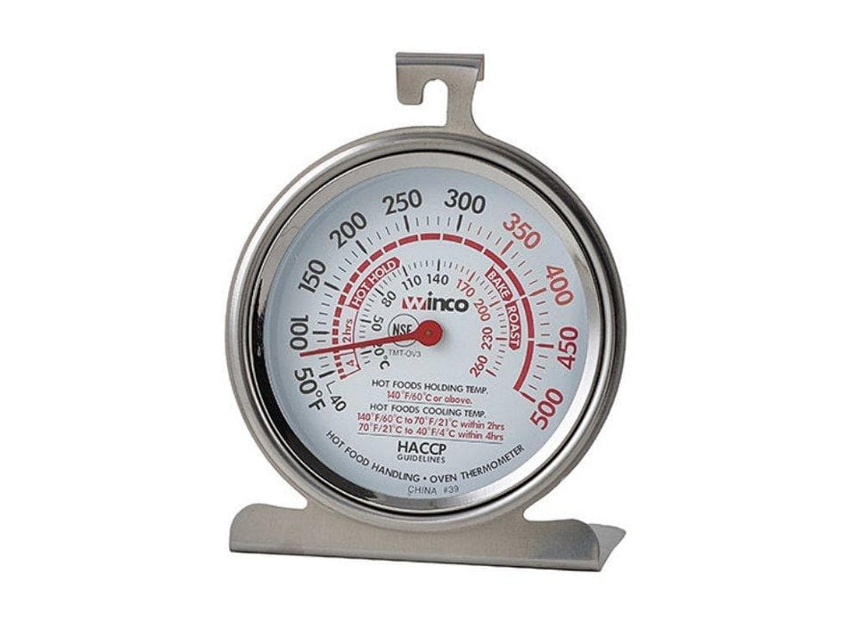 Winco Oven Thermometer - Various Sizes - Omni Food Equipment