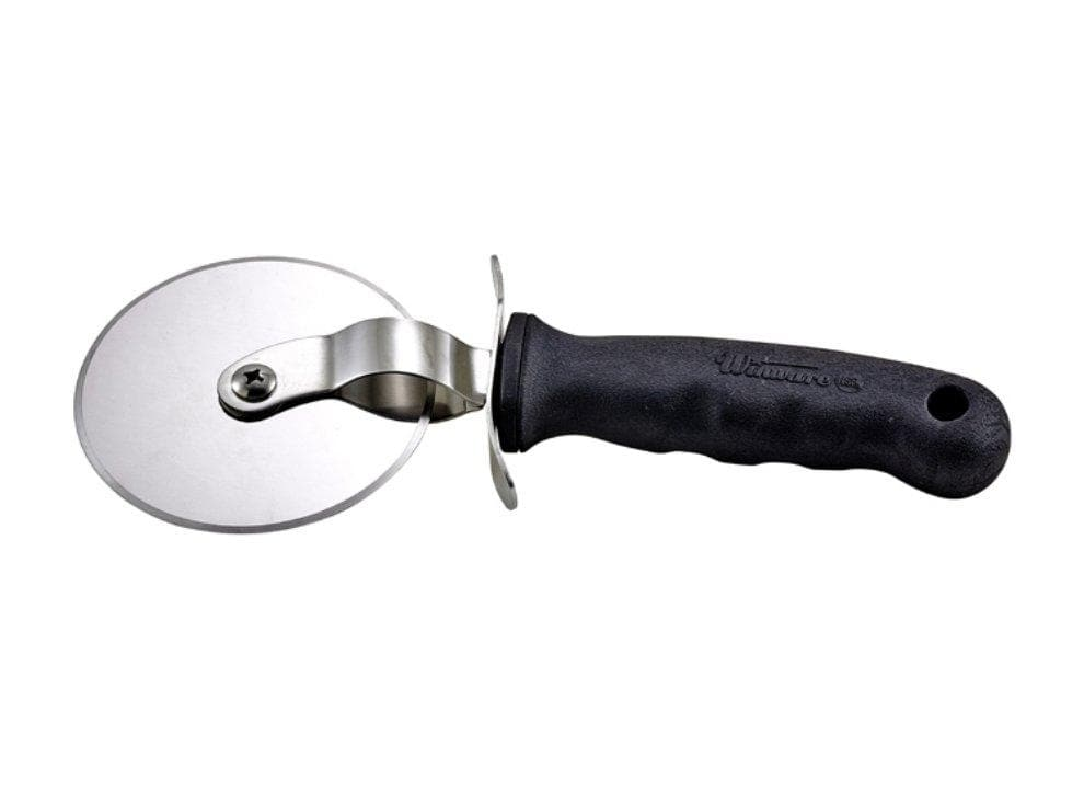 Winco Pizza Cutter With Soft Grip Handle - Various Sizes - Omni Food Equipment