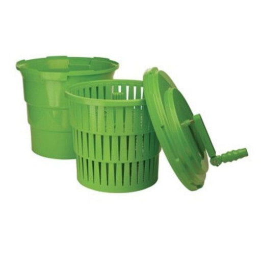 Winco PLSP-5 Barrel Style 5 Gallon Salad Spinner/Dryer - Various Colours - Omni Food Equipment