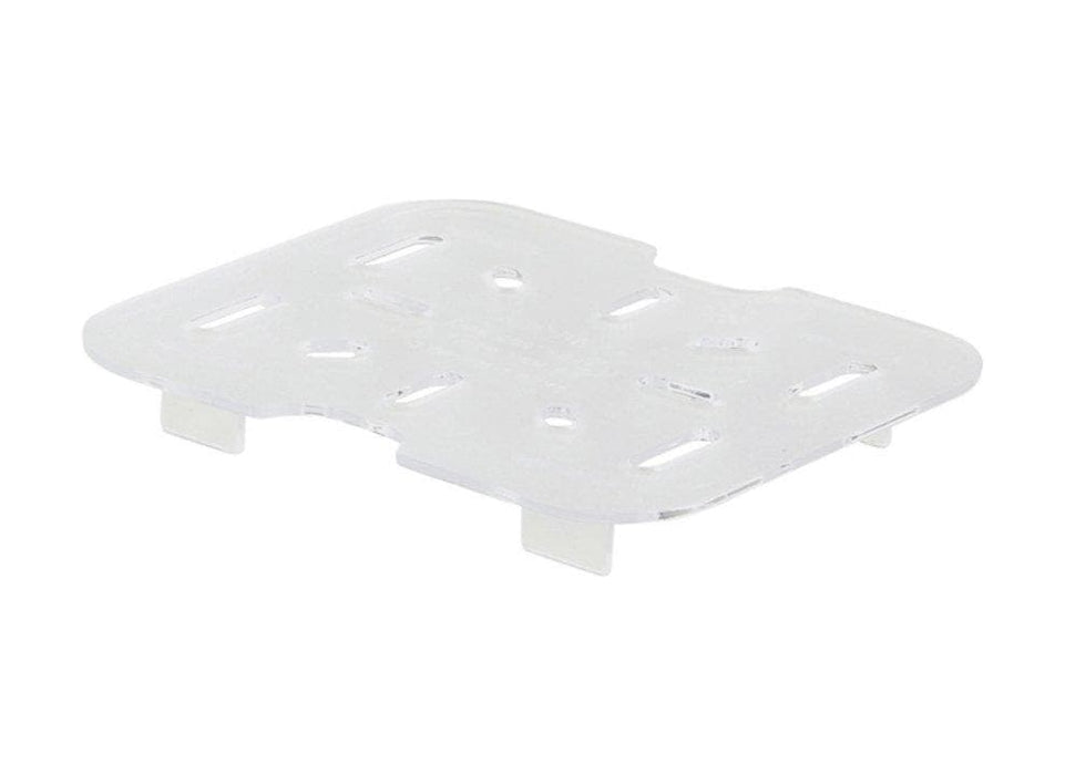Winco Polycarbonate Drain Shelf - Various Sizes - Omni Food Equipment