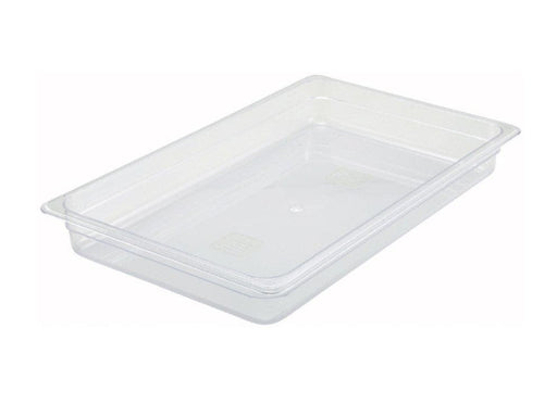 Winco Polycarbonate Food Pan - Various Sizes - Omni Food Equipment